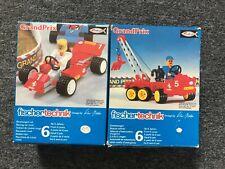 Fischertechnik GrandPrix Racing Car & Rescue Vehicle (No's 30 386 & 30 389)