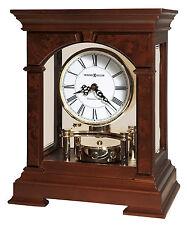 Howard Miller 635-167 (635167) Statesboro Mantel/Mantle Clock - Cherry Bordeaux