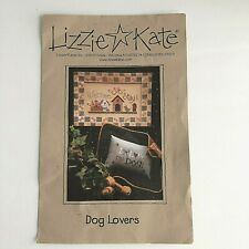 New ListingLizzie Kate Counted Cross Stitch Kit Dog Lovers 2 Patterns No 051 1998