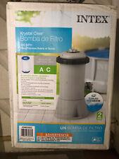 Intex Krystal Clear 530 GPH Easy Set Pool Replacement Cartridge Filter Pump *NEW