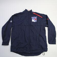 New York Rangers Fanatics Nhl Pro Authentics Jacket Men's Navy Used