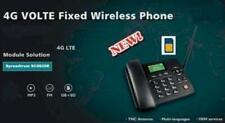 4G Hotspot WifFi Bluetooth GSM-Tischtelefon für Büro, Familie und Senioren
