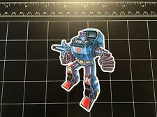 Transformers G1 Kup box art vinyl decal sticker Autobot 1980s 80s toy