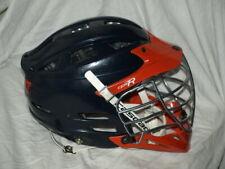 cascade seven lacrosse helmet Cpx-R navy orange