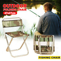 Lightweight Outdoor Portable Folding Chair Stool Fishing Camping Hiking Picnic /