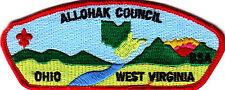Boy Scouts Of America ALLOHAK CNL CSP badge