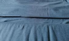 Soja Modal Bio Jersey Rauchblau 10X 135 cm Weich Glänzend Uni Hohe Saugfähigkeit