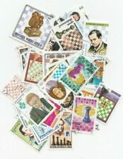 50 Different Chess Stamps