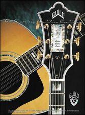 The Guild 1996 Artist Award Model 6 & 12 string guitar ad 8 x 11 advertisement