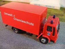 1/87 Rietze Ford Cargo Werksfeuerwehr Umwelt/Chemieschutz Kasten-LKW 60125