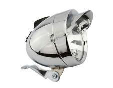 NEW!!Bicycle Bike  LOWRIDER Bullet Light W/Visor 2/Bulb 4150 Chrome