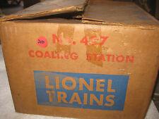 Lionel 497 Post War Coaling Station in original Box 1953-58......LQQK