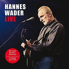 HANNES WADER - LIVE 2 CD NEU