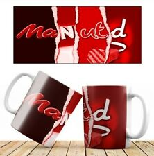 Man UTD Football team chocolate wrapper mug Game Gift ideas Present
