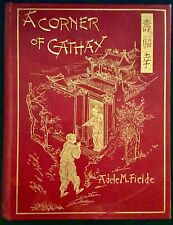 A Corner of Cathay by Adele M. Fielde 1894 illustrated SIGNED by author