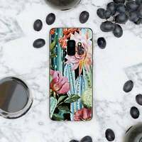 Colorful Cactus Case For New Samsung Galaxy S8 S9 S10 Plus S10e Silicone Cover