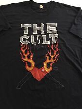 VERY RARE Vintage 80s THE CULT Early Tour T-shirt Screen Stars Size Large