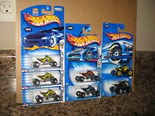 Hot Wheels Lot of 7 ATV Variation Sand Stinger Quad Racer All Terrain Vehicle