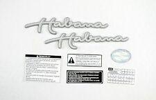 Nuevo Genuino Aprilia Habana Mojito () 50 Retro 2T 99-03 Decal Set AP8257692 (GB)