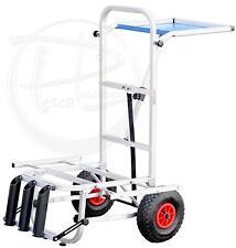 carrello porta attrezzatura surfcasting carpfishing alluminio professionale PLO