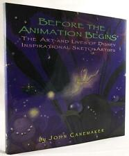 Before the Animation Begins by John Canemaker (First Edition)- High Grade