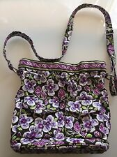 Vera Bradley Quick Draw Light Purple/Purple Floral Bucket Drawstring Purse