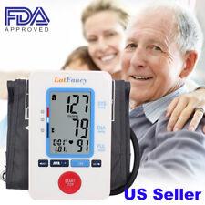 Plus Size Digital Arm Blood Pressure Monitor BP Cuff Machine Guage Tester Sensor