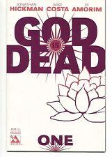 GOD IS DEAD ENHANCED #1 Variant LED 1 of 7500 Jonathan Hickman AVATAR COMICS VF