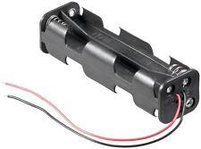 Batteriehalter 8 x AA Mignon Batterien loser Kabel Anschluss Batteriefach
