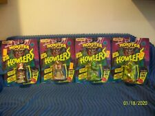 """NEW 1992 Matchbox Monster in my Pocket LOT OF ALL 4 """"HOWLERS"""" IN FACTORY PACKAGE"""