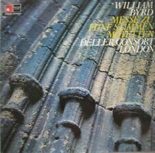 DELLER-CONSORT LONDON - ALFRED DELLER - WILLIAM BYRD -  LP