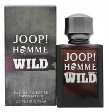 JOOP! HOMME WILD EAU DE TOILETTE 75ML SPRAY - MEN'S FOR HIM. NEW. FREE SHIPPING