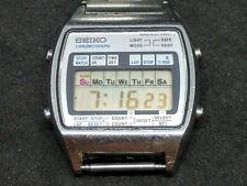 (#24) Vintage 1978 Seiko LCD Digital Sport Watch A127-5029 A Alarm Chronograph