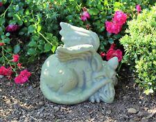 Dragon Gargoyle Garden Decorative Ornament Stone Effect Sculpture Statue Large