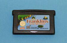 Nintendo GBA GAMEBOY ADVANCE GIOCO-Franklin 's great adventure-SOLO MODULO