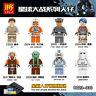 C023-030 Figuren Stormtrooper Mine Ahsoka Tano Rey Luke Skywalker 8PC
