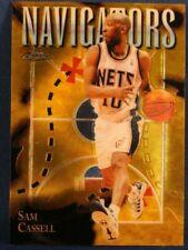 Sam Cassell New Jersey Nets 1997-1998 Basketball Card S85