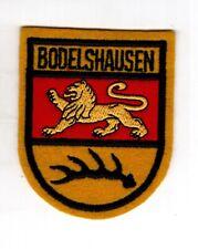 Patch Écusson Armoiries Bodelhausen District Tübingen