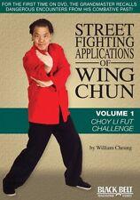 STREET FIGHTING APPLICATIONS WING CHUN 1: CHOY LI - DVD - Region Free