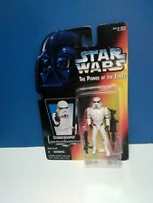 1995 Hasbro Star Wars Stormtrooper With Blaster Rifle And Heavy Infantry Cannon