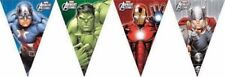 AVENGERS -  BUNTING FLAG BANNER - CHILDREN'S BIRTHDAY PARTY DECORATION boy girl