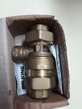"NEW Wilkins Dual Check Backflow Preventer 3/4"" Model 760 NOS"