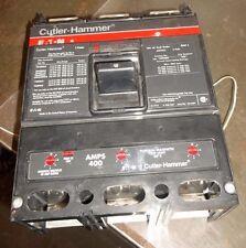 CUTLER-HAMMER EATON LSB360400E 400 AMP MODEL E 3POLE 600VAC CIRCUIT BREAKER (Q6)