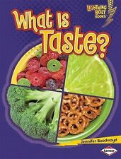 What Is Taste? (Lightning Bolt Books) (Lightning Bolt Books: Your Amaz-ExLibrary
