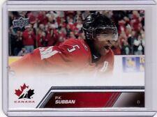 PK P.K. SUBBAN 13/14 Upper Deck Team Canada High Number SP #168 Short-Print Card