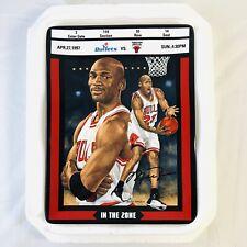 "Michael Jordan Bradford Exchange Ticket To Greatness Plate 5 ""In The Zone"" w COA"
