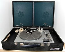 Vintage RCA  Solid State Portable Stereo Record Player VHP25E