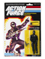 Action Force / GI Snake Eyes Commando MOC Carded Custom