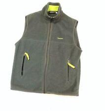 Patagonia Gray Synchilla Men's Medium  Full Zip Fleece Vest