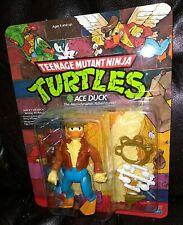 1989 Teenage Mutant Ninja Turtles Ace Duck unpunched MOC Playmates Action Figure